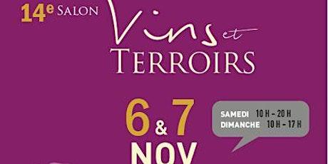 14ème Salon des Vins et Terroirs Rotary les 6 et 7 novembre 2021 billets