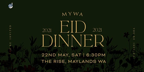 MYWA EID DINNER 2021 tickets