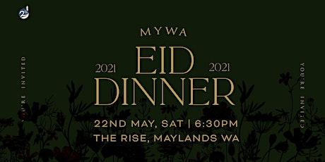 MYWA EID DINNER 2021 tickets