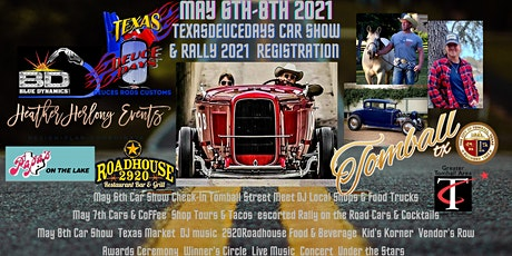 Texas Deuce Days Car Show & Rally Registration tickets