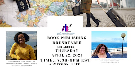 Book Publishing Roundtable for Adults: Travel Writing Tickets