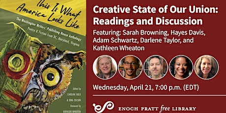 Creative State of Our Union: Readings and Discussion tickets