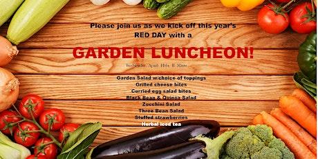 Garden Luncheon - Red Day Kick Off tickets