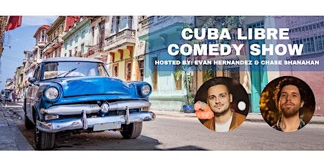 Cuba Libre Comedy tickets