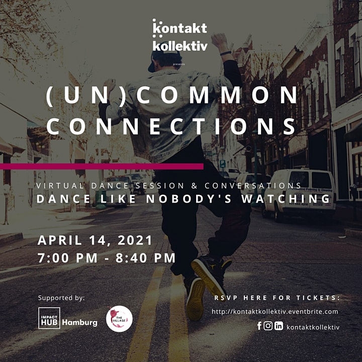 (un)common connections:  Dance Like Nobody's Watch image