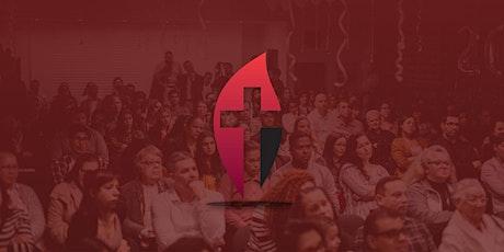 Culto Público Chama Viva Leça | 11ABR2021 | 18H00 bilhetes