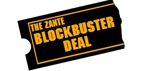 Zante Blockbuster Deal Sam tickets