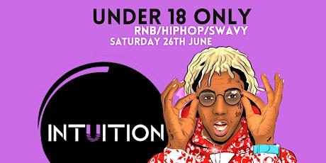Intuition Under 18s tickets
