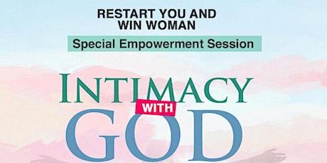 Intimacy with God tickets