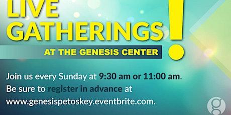 Sunday April 18 -  9:30am Gathering  **Please see note regarding children** tickets