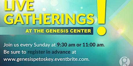 Sunday April 18 - 11:00am  Gathering tickets