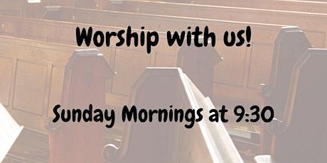 Worship-Sunday May 16 @ 9:30 AM CONFIRMATION SUNDAY tickets