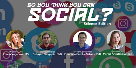 So You Think You Can Social? Science Edition tickets