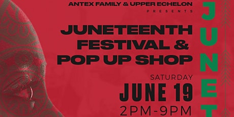 Juneteenth Festival & Pop up Shop tickets