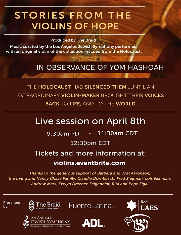 The Stories of the Violins of Hope image