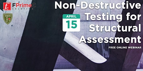 Non-Destructive Testing for Structural Assessment tickets