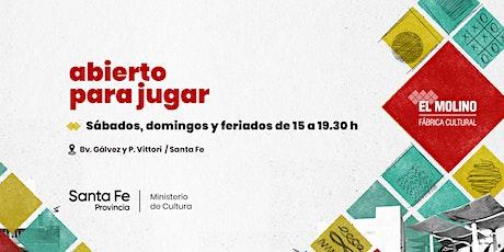 Visitá El Molino, Fábrica Cultural entradas