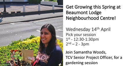 Get Growing This Spring - Beaumont Lodge Women Community Garden Session tickets