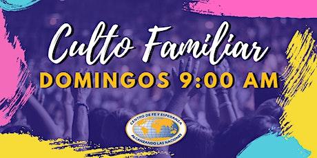 Culto Familiar 11 de abril 9:00 AM boletos