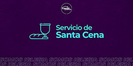 Servicio de Santa Cena entradas