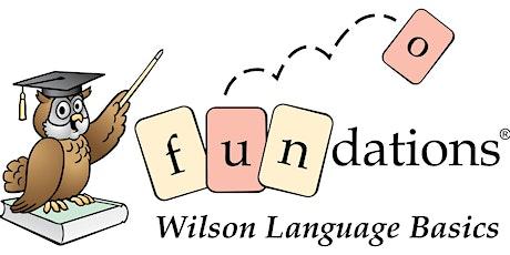 Wilson Fundations® Level 1 Workshop tickets