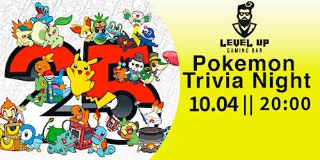 Level Up Pokemon Trivia Night tickets