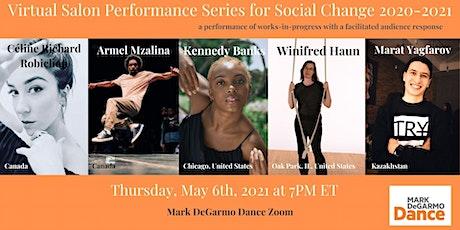 MDD's Virtual Salon Performance Series: May 6th, 2021 tickets