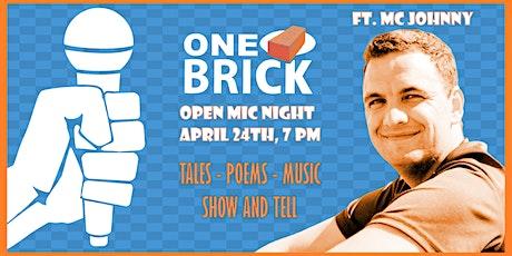 One Brick Open Mic Night tickets