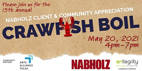 2021 Nabholz Tulsa Crawfish Boil tickets
