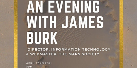 An evening with James Burk tickets