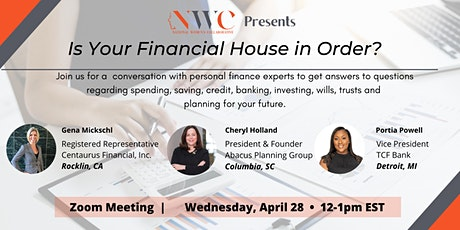 Is Your Financial House in Order? tickets