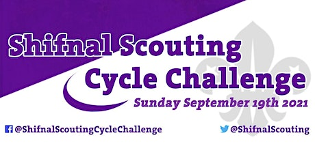 Shifnal Scouting Cycle Challenge 2021 - Sunday 19th September tickets