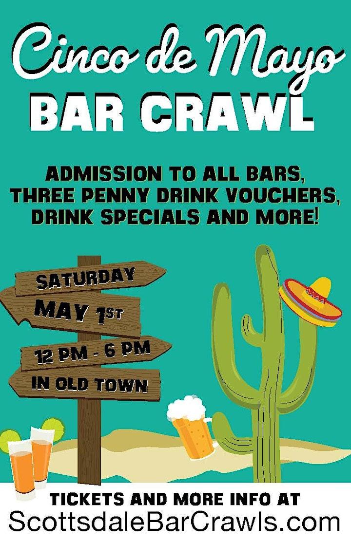 Scottsdale Cinco de Mayo Bar Crawl in Old Town - Bar Crawl de Mayo image