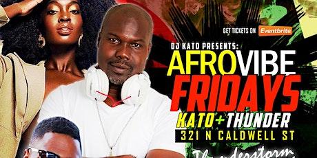 AfroVibe Fridays, Vol  5: Thunderstorm Edition tickets