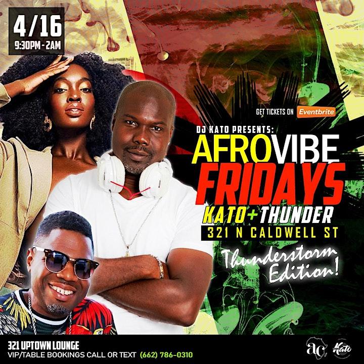 AfroVibe Fridays, Vol  9: Thunderstorm Edition image