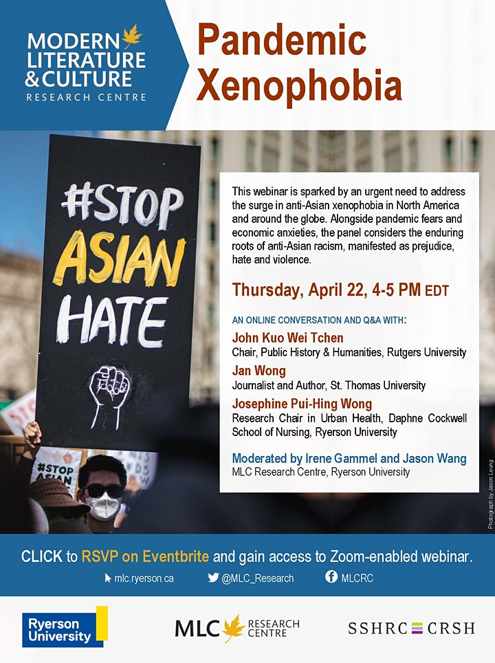 Pandemic Xenophobia image
