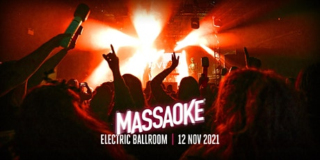Massaoke at the Electric Ballroom - 90s Special tickets