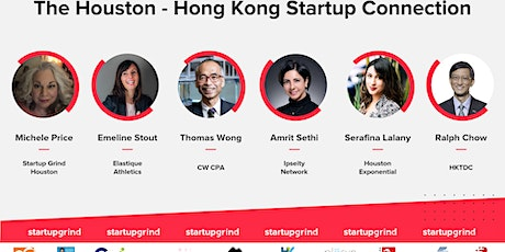 The Houston - Hong Kong Startup Connection tickets