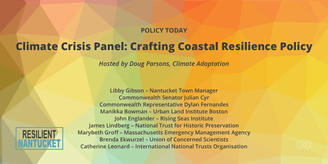 Climate Crisis: Crafting Coastal Resilience Policy tickets
