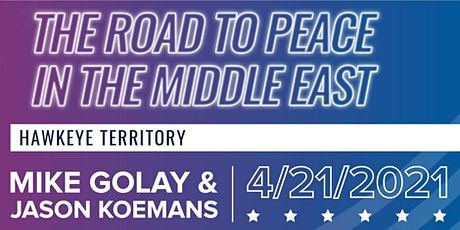 Behold Israel: The Road to Peace in the Middle East tickets