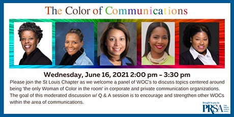 The Color of Communications - A WOC Panel Discussion tickets
