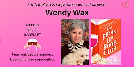 Wendy Wax, The Break-Up Book Club Virtual tickets