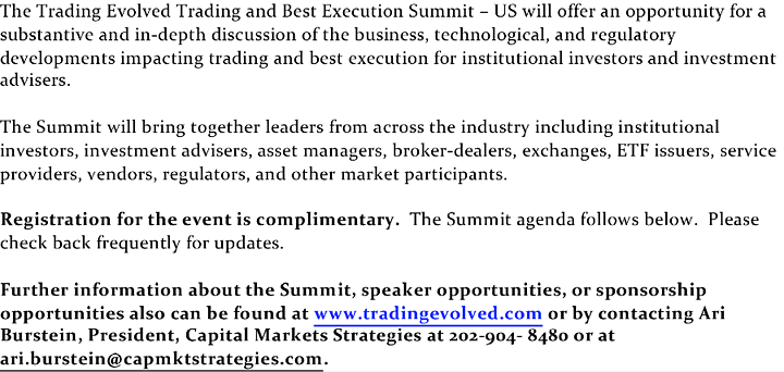 Best Execution and Trading Summit - US image