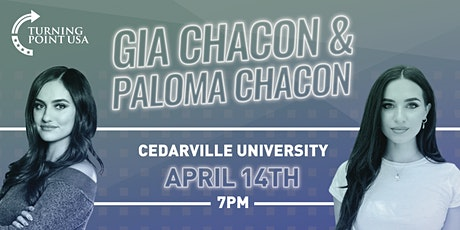 Gia and Paloma Chacon at Cedarville University tickets