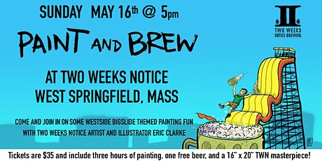Paint and Brew with Eric Clarke tickets