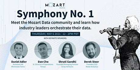 Mozart Data Symphony No. 1 - Orchestrate your data! tickets