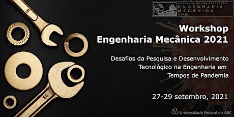 Workshop de Engenharia Mecânica bilhetes