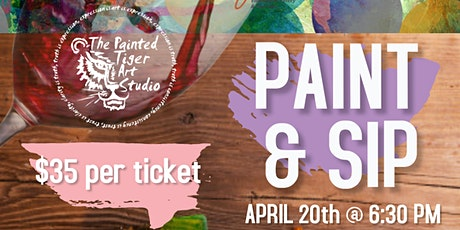 Paint & Sip @ Saigon Outcast tickets