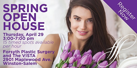 Spring Open House and VIP Giveaway tickets