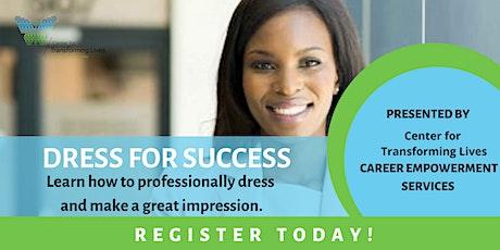 Dress for Career Success Webinar tickets